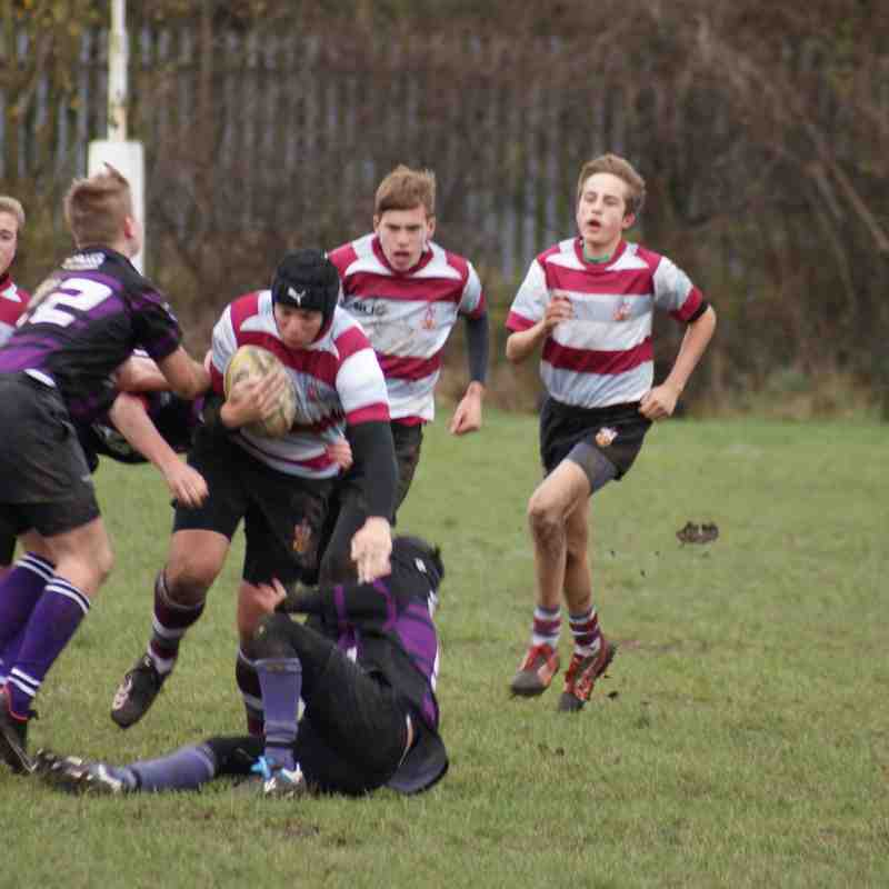 U15 (Dev) vs Romford 7 Dec 2014