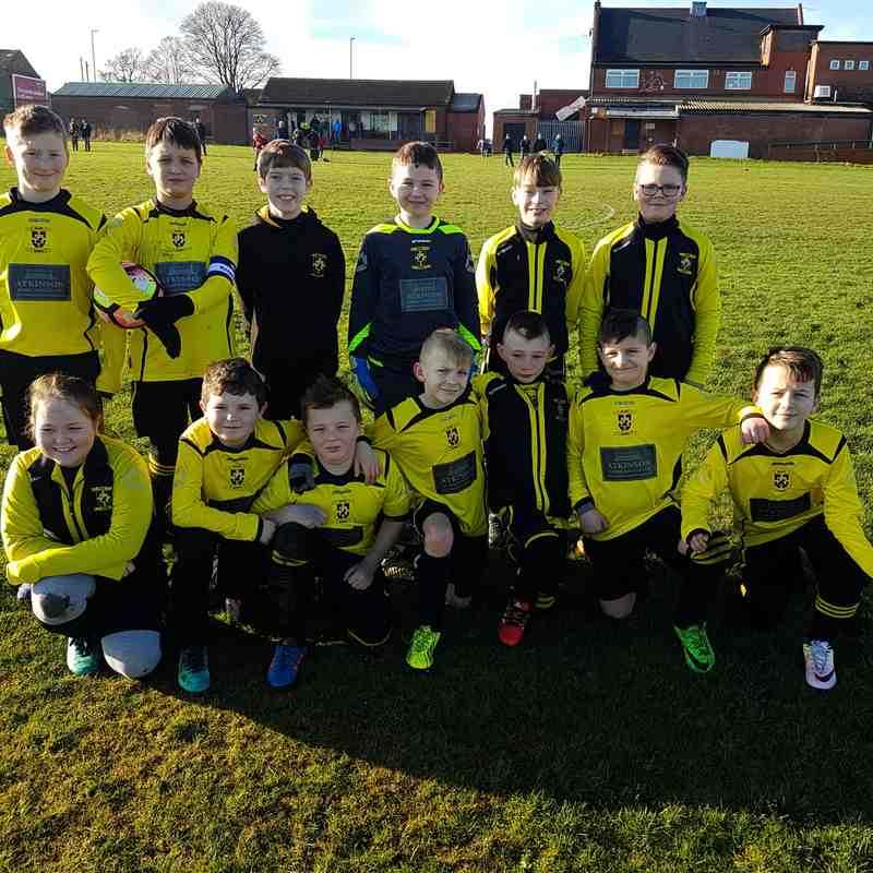 U10s vs U11s Friendly - 29/01/2017