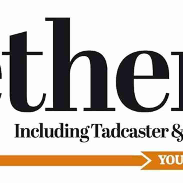 Wetherby News artical on the new season: