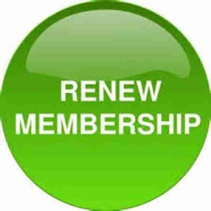 Membership Fees Due