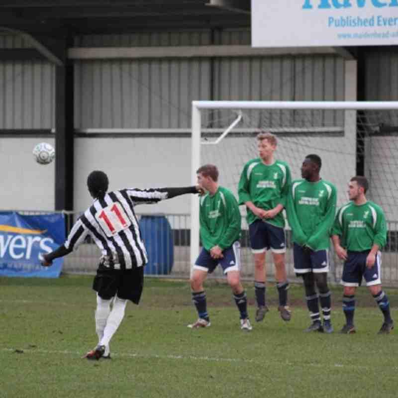 WTFC vs Maidenhead United 02.01.12