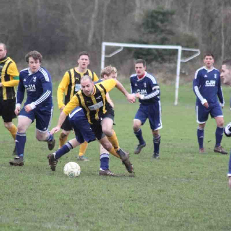 Woodley Town FC Vs Newbury FC (3-1)
