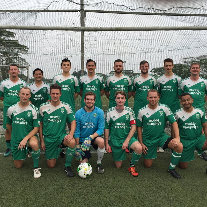 Hibs FC lose to Olympique Gaulois Singapore 1 - 3