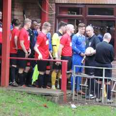 Whyley Volley Wins It For Harrowby At Oadby Town.
