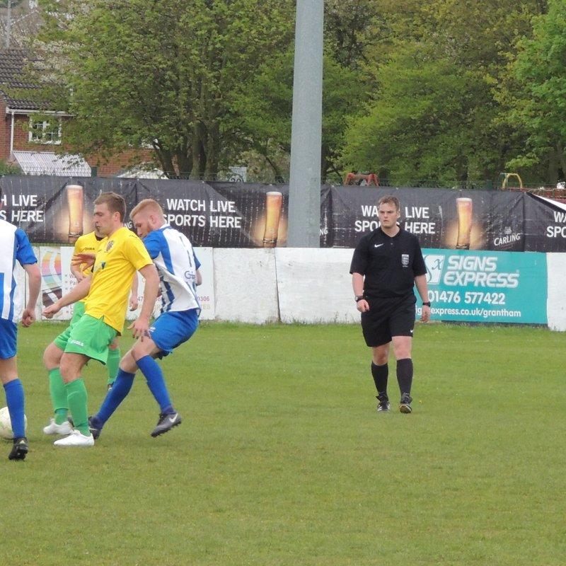 Harrowby United v Wisbech Town 29-04-2017