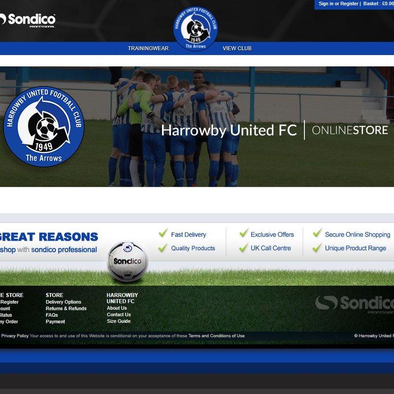 Arrows Online Shop Now Up & Running.