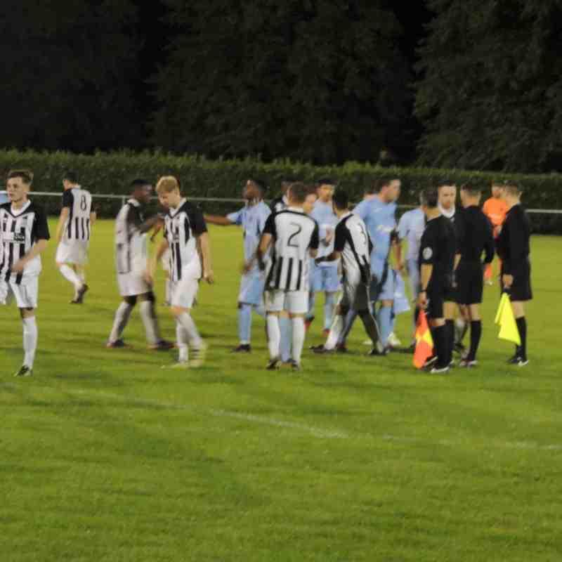 Bourne Town v Harrowby United KO Cup 29-08-2017