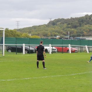 Harrowby Gift Goals & Points to Huntingdon Town.