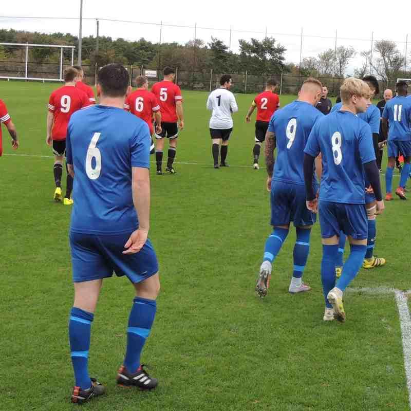 Irchester United v Harrowby United KO Cup 07-10-2017