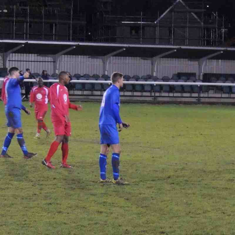 Buckingham Town v Harrowby United 18-11-2017