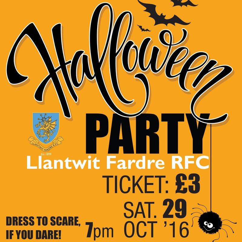 LFRFC Halloween Party