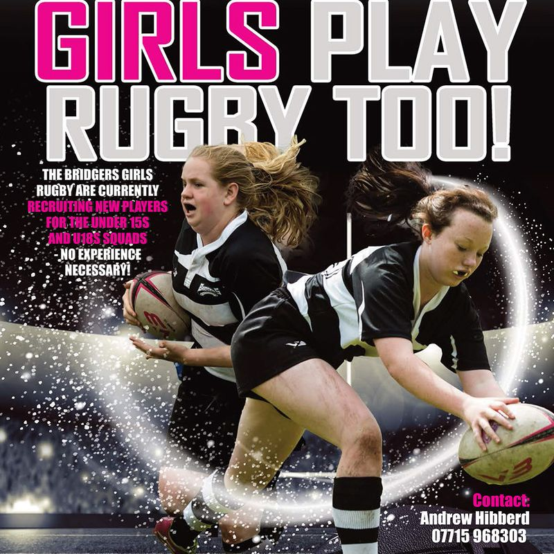 GIRLS PLAY RUGBY TOO!
