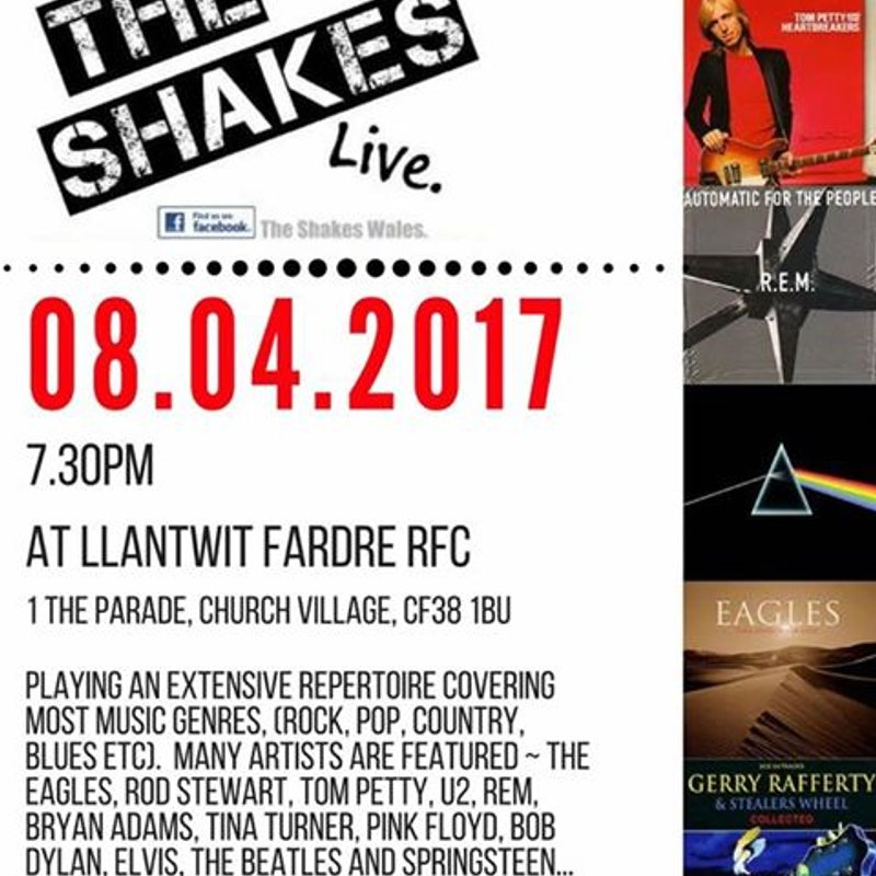 THE SHAKES - Live Band