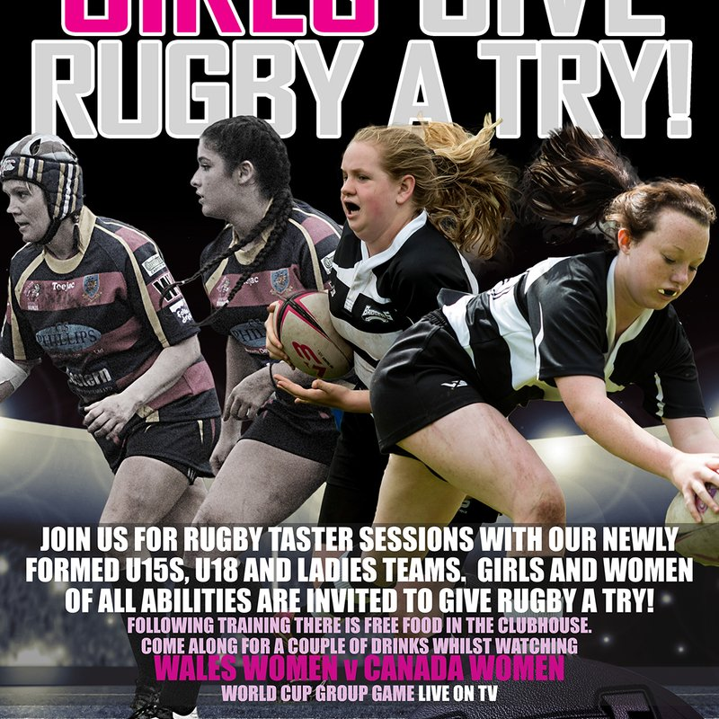 GIRLS: GIVE RUGBY A TRY!