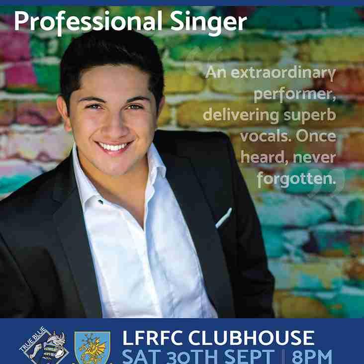 Professional Singer - RIO SCIBONA