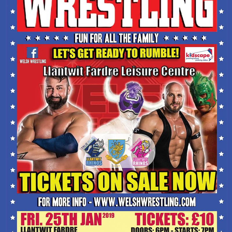 WELSH WRESTLING - fun for all the family