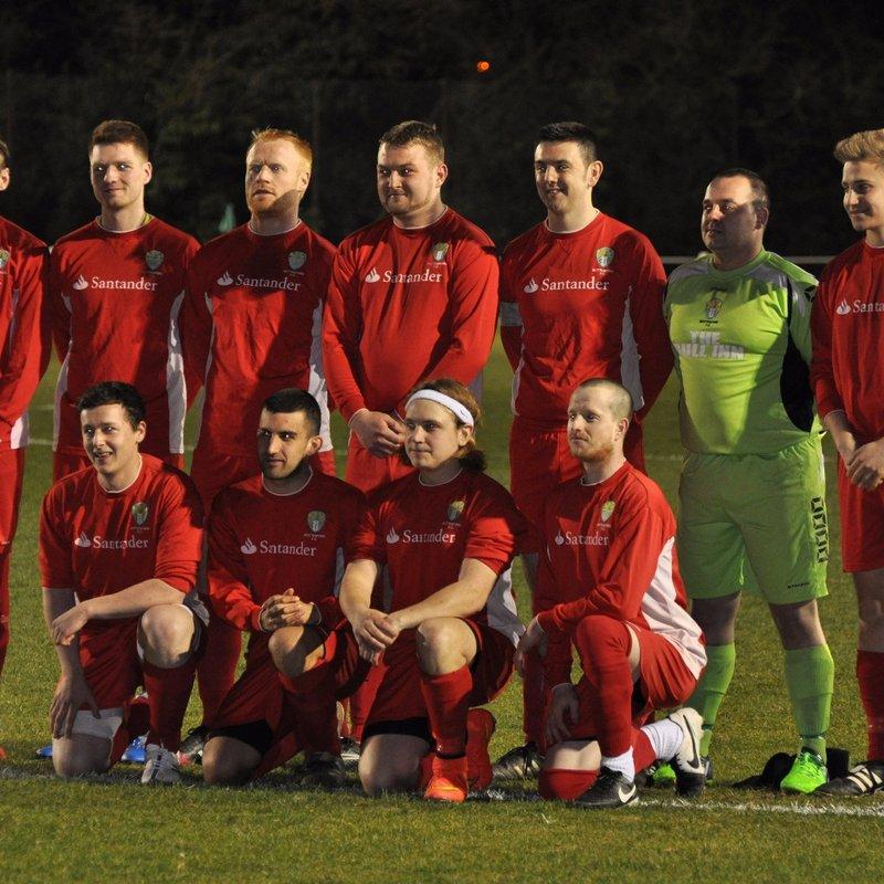 1st Team lose to Ravenstone United 6 - 1