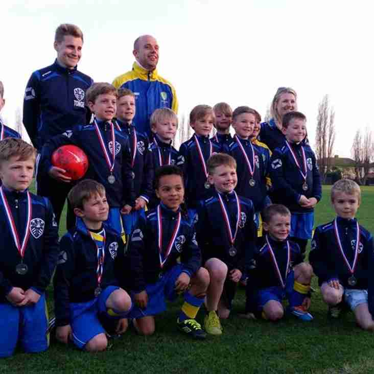 Under 8's in Cup Final Action