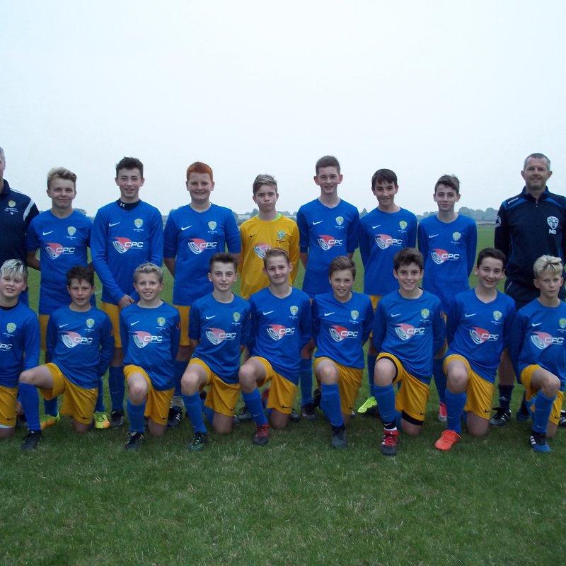Under 14's in Friendly Win