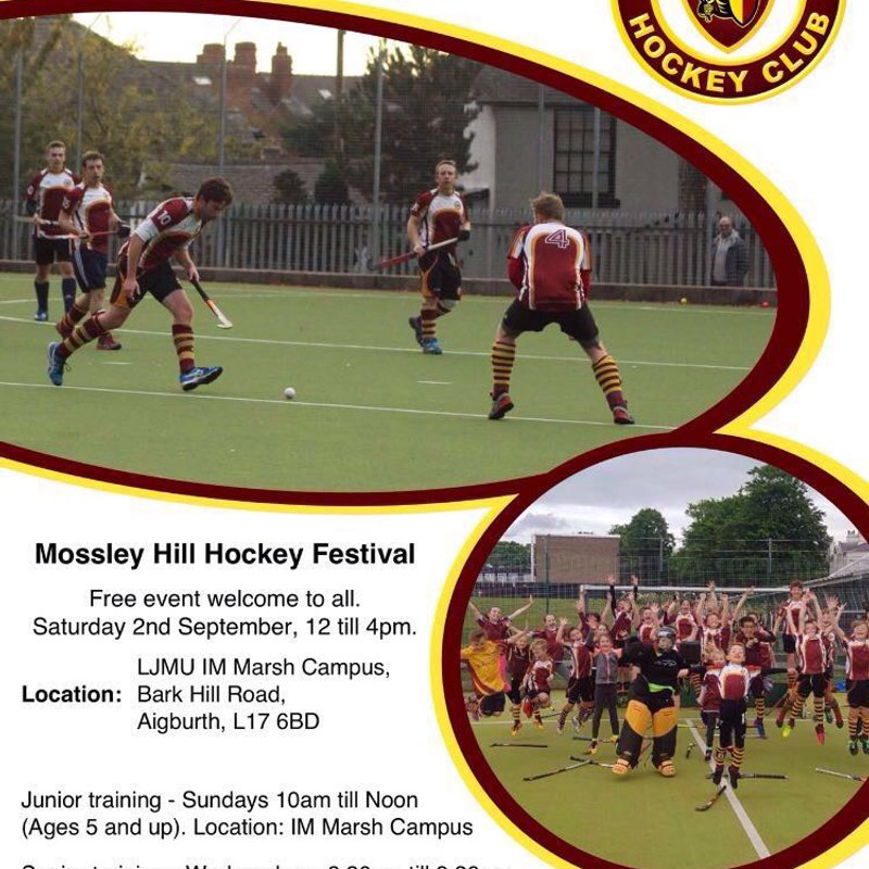 Mossley hill hockeyfest