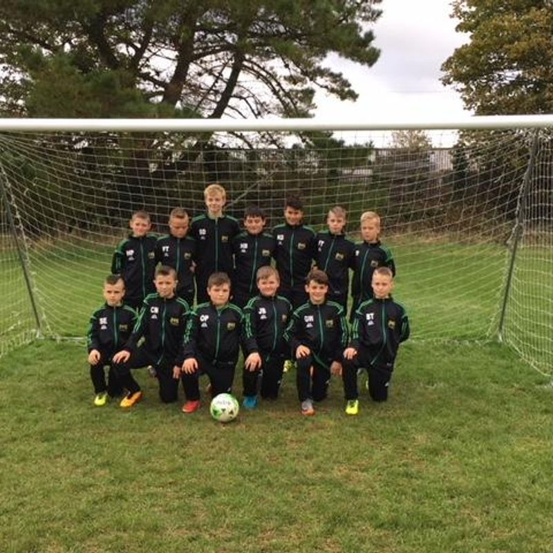 FIVE STAR u-12's STUN STOKE LANE