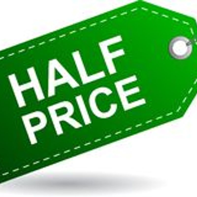 HALF PRICE AT HENGROVE!