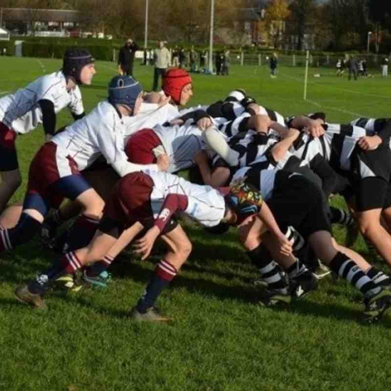 Gravesend U14's vs. Sidcup U14's 27Nov2011