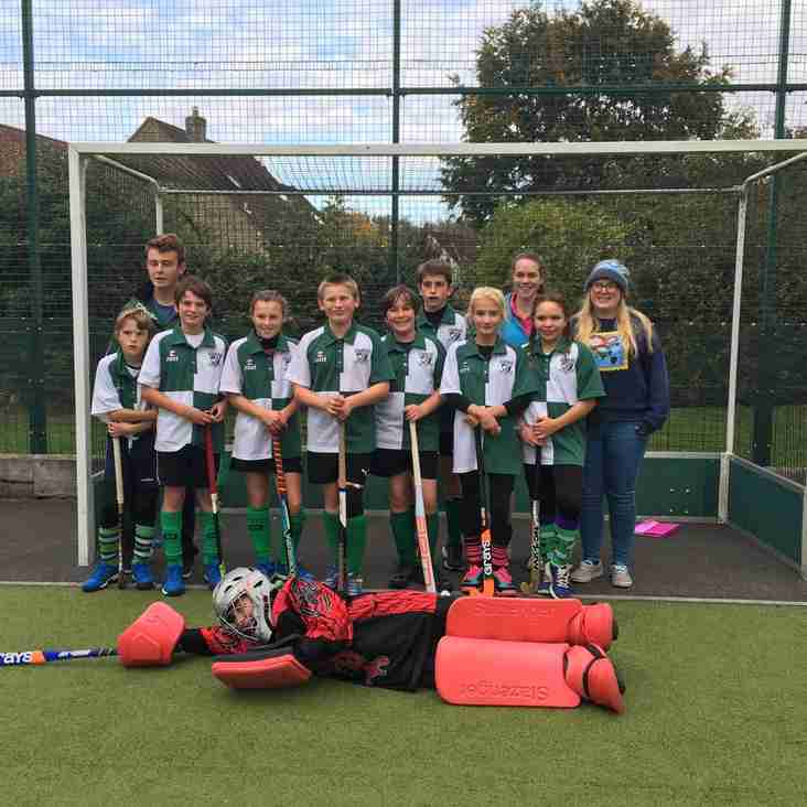 Chard Mixed U12s Storm Hockey Tournament