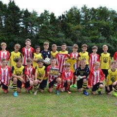 Clarendon Juniors Under 12's vs The Beekman Crew