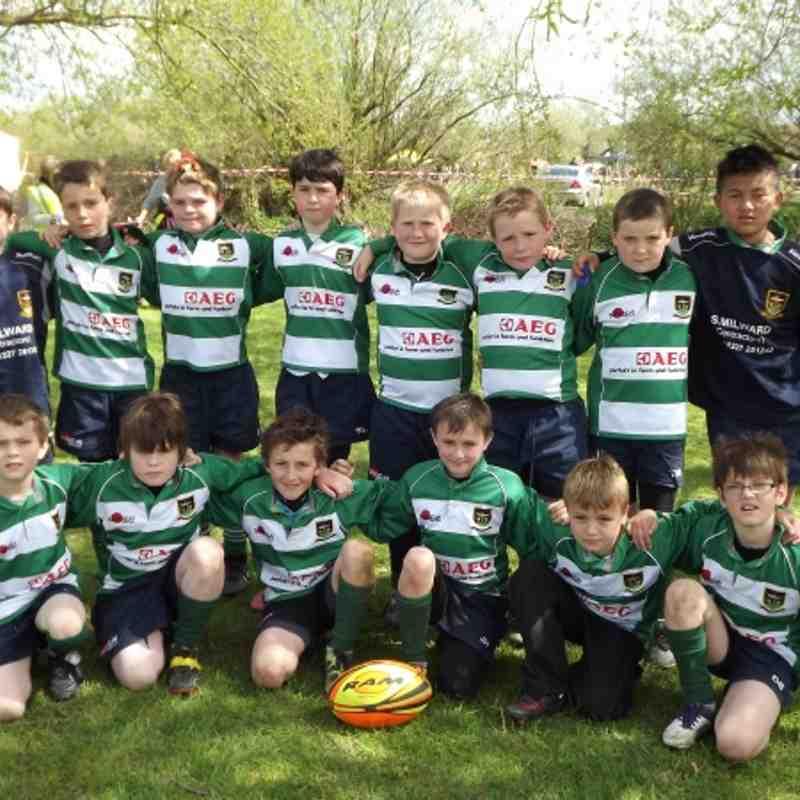 FRFC Under 10s at Kent Mini Finals 2012