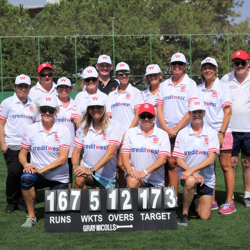 The Creditwest TRNC Ladies Cricket League gets under way