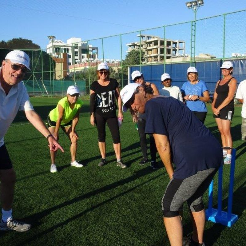 Ladies Cricket training recommenced last Tuesday