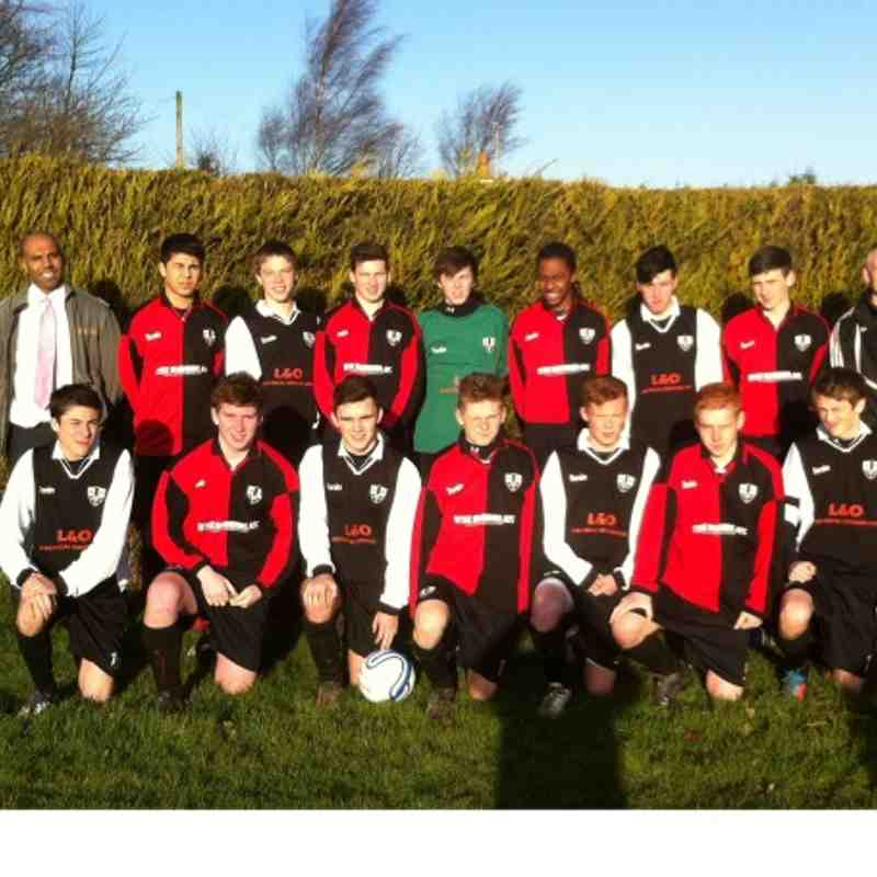 2012/13  U16 TEAM PHOTOS