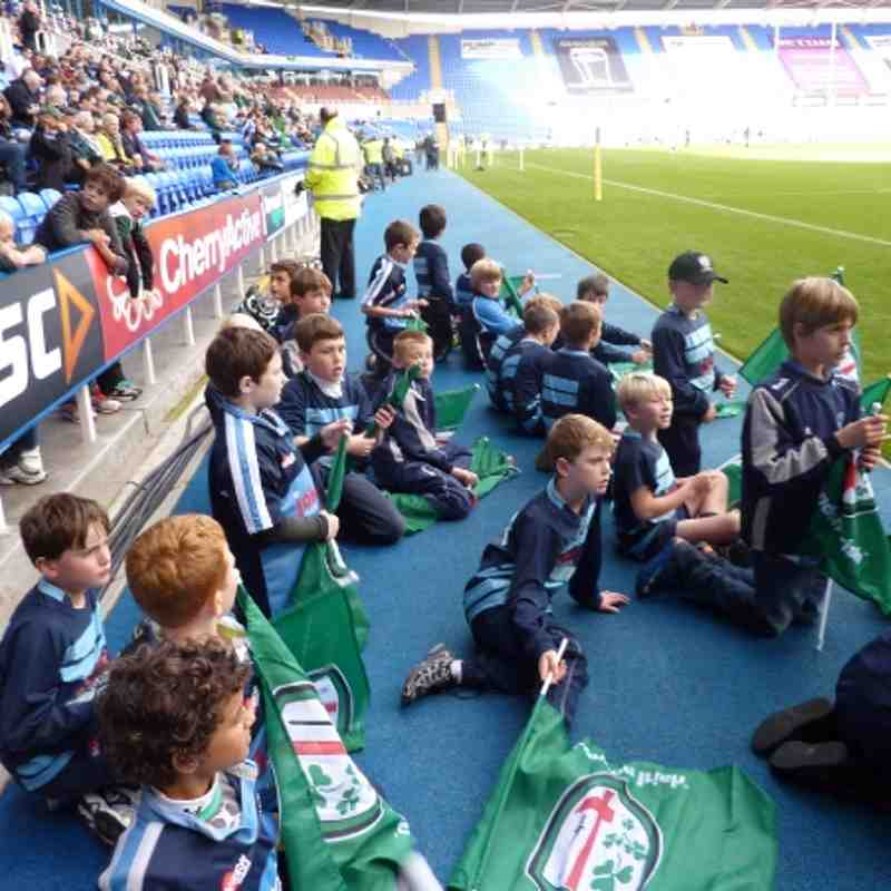U10's London Irish Day 30th October 2011