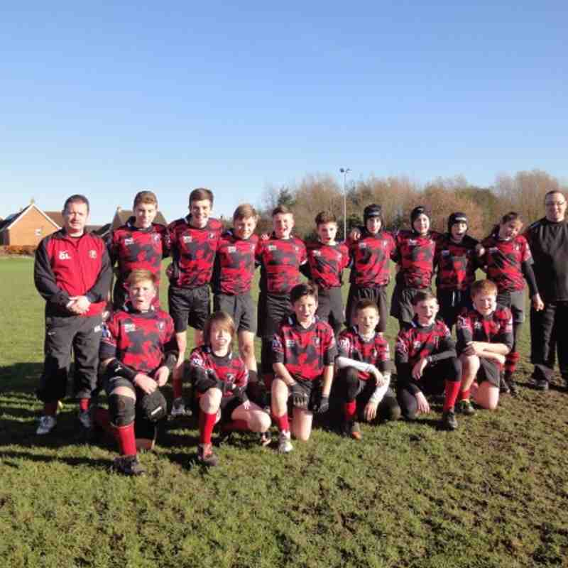Ashford V PH U13 Nov 18th 2012