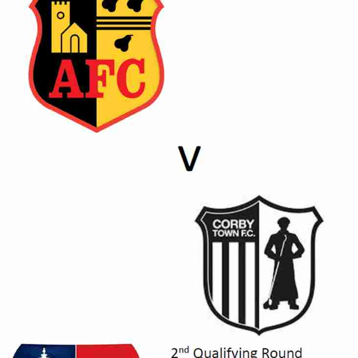Match Day Programme - Corby Town