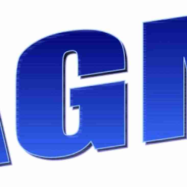 AGM - Wednesday 22nd April