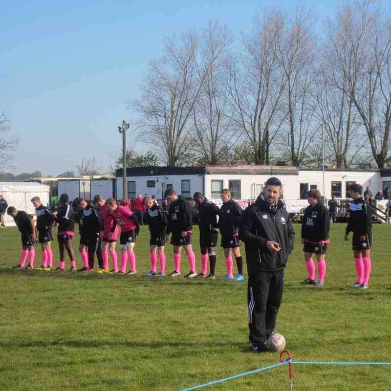 camber sands U15's pink tour