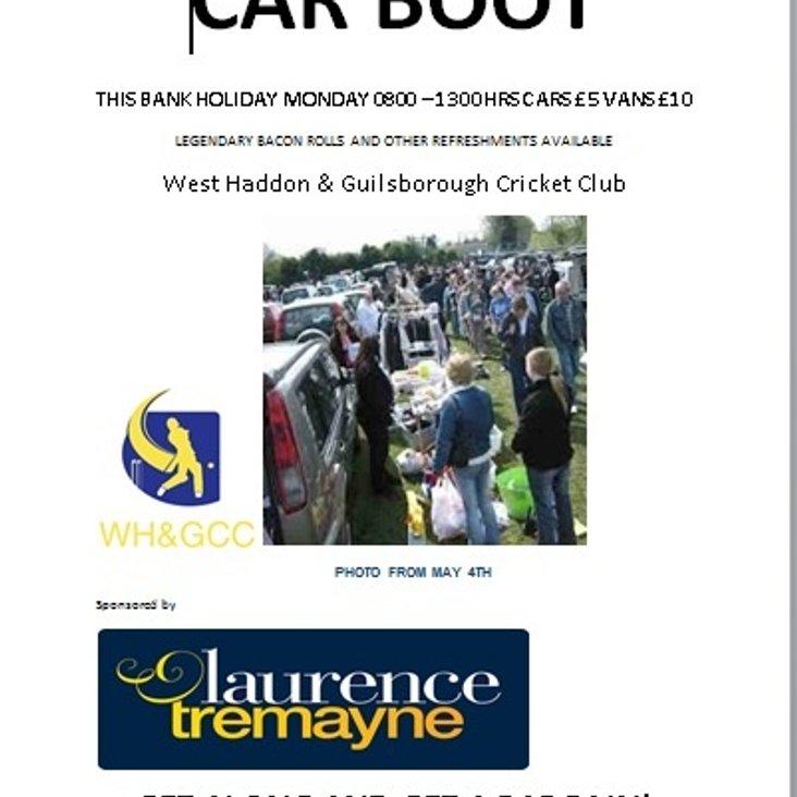 Car Boot this Bank Holiday<