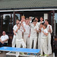 U15 County Finals - Trophy and Team photos