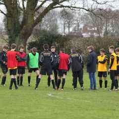 Under 16's v Attleborough