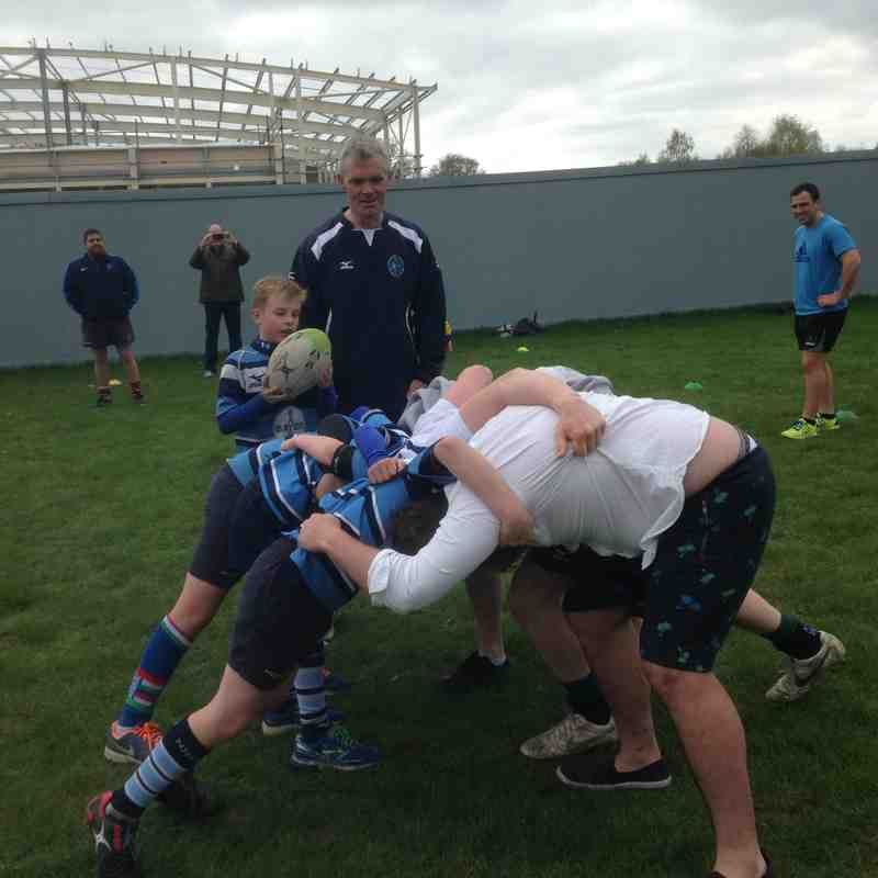 The Mighty U11s vs the 1st XV Newbury!