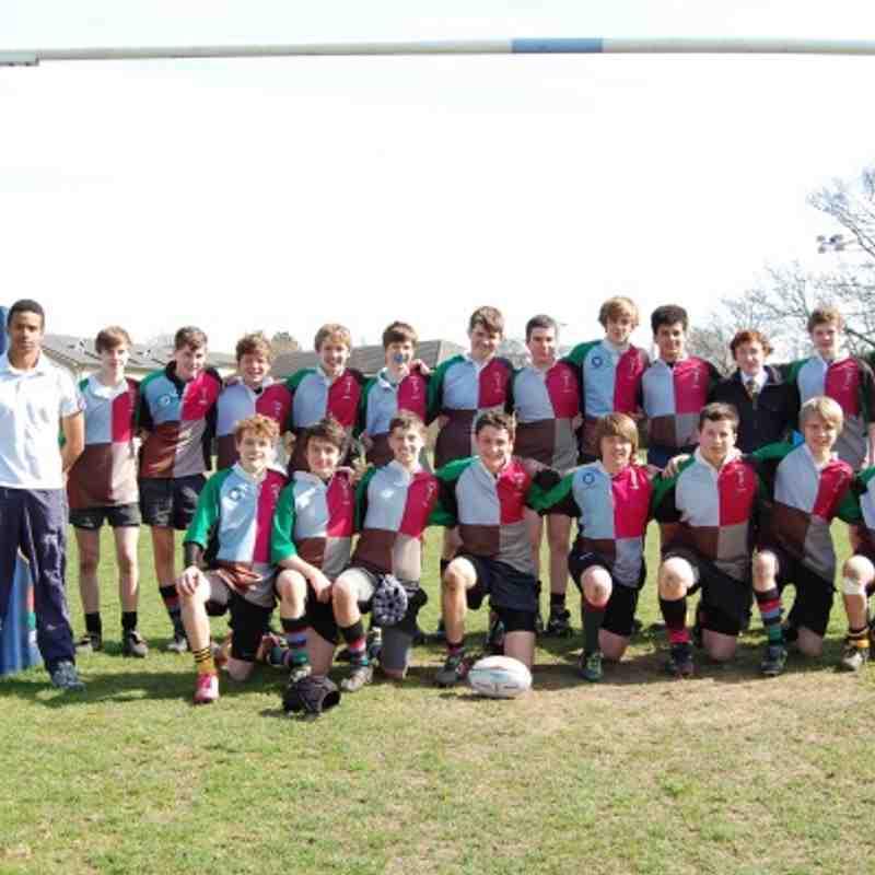 Harlequins U15 Vs Enfield 2012-03-25