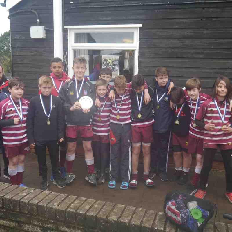 Under 12 Cheshire Bowl 2016 winners