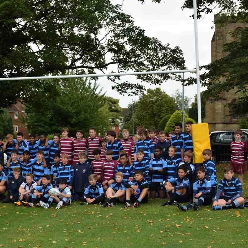 Pre- season game Wirral VS St James school Sunday 3rd September 2017