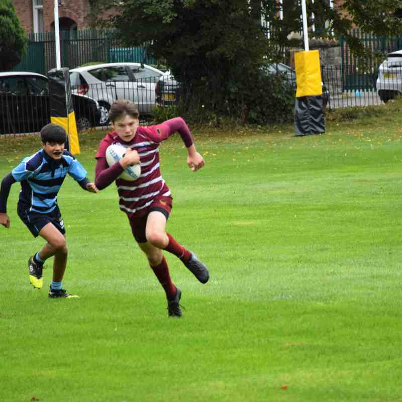 Pre- season game Wirral VS St James school Sunday 3rd September 2017