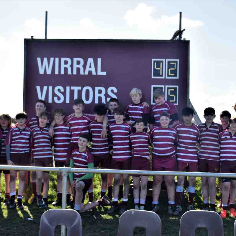 U14 Cheshire Cup Semi final 2018 Wirral vs  Bowden