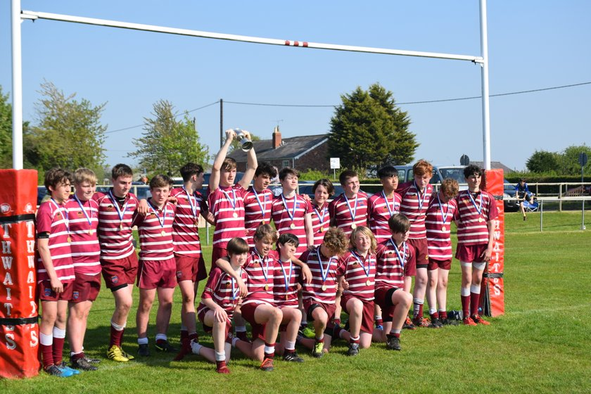 U14's Cheshire Cup  Winners 2018