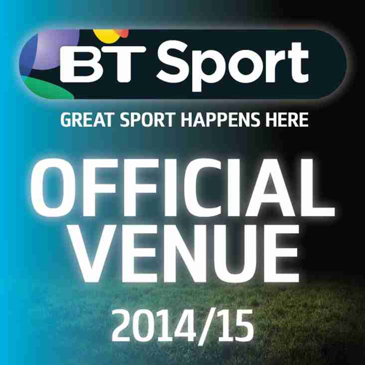 BT Sport and Premiership Rugby - LIVE!