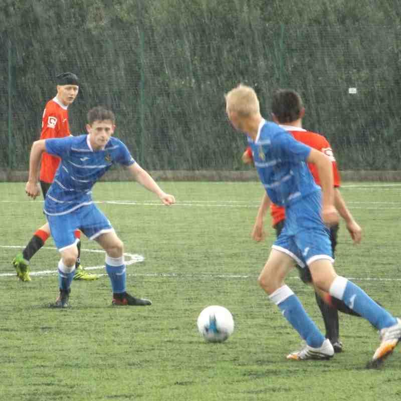 Ashton Athletic U18's v Salford City